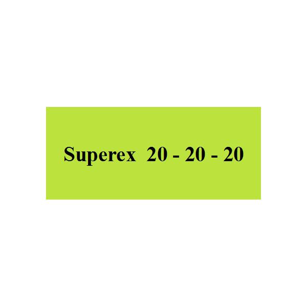 Superex 20 – 20 – 20