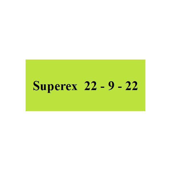 Superex 22 – 9 – 22